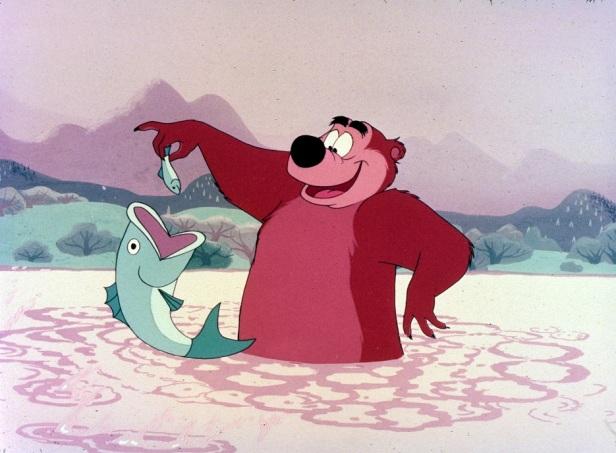 Humphrey the Bear Disney Character