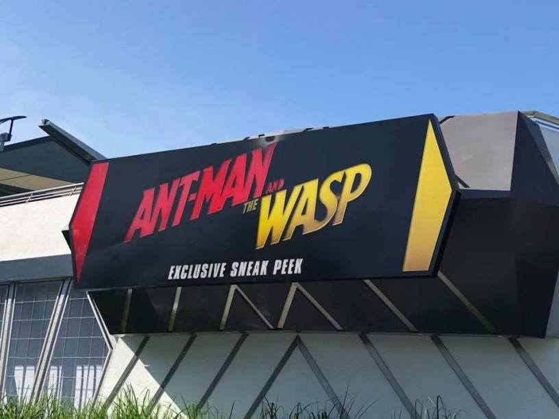 Movie Sneak Peeks In The Parks Ant Man And Wasp Incredibles 2