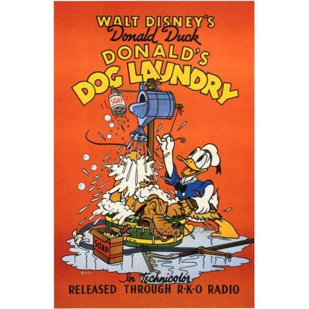 Donald's Dog Laundry 1940
