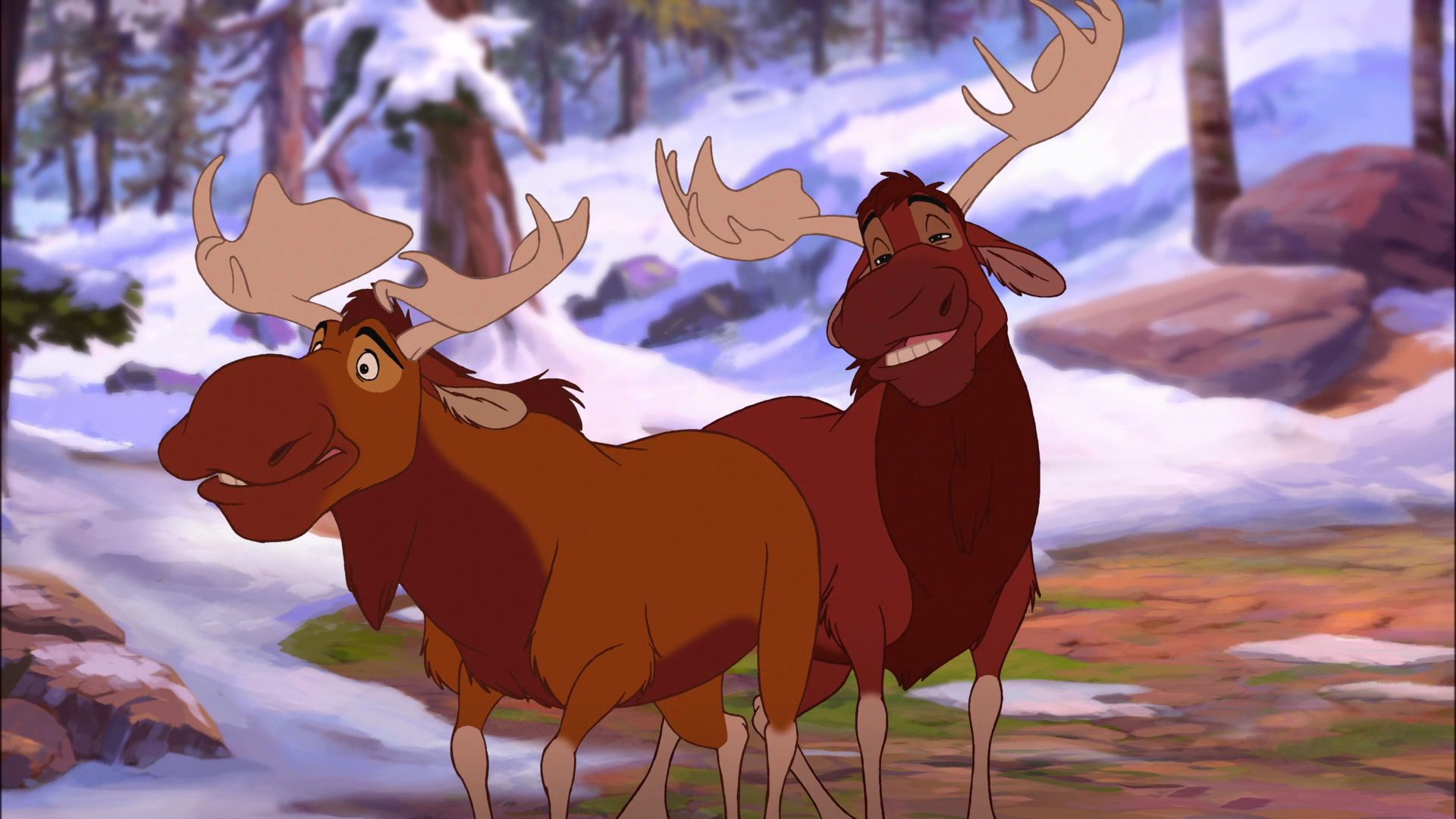 Disney Animated Character Of The Week 20 Rutt And Tuke Brother Bear 2003 The Mouse Minute