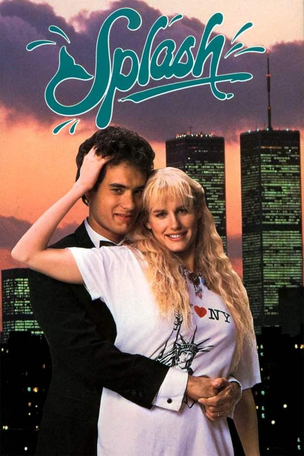 Splash 1984 poster